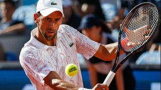 Il coronavirus scuote il mondo del tennis: Djokovic è positivo