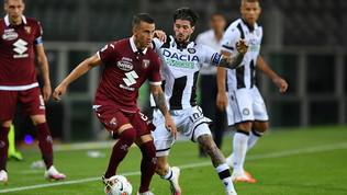 Torino-Udinese 1-0: la partita in foto