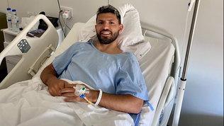 Aguero operato al ginocchio: obiettivo Champions League