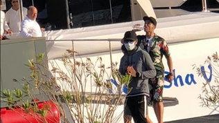 CR7-Georgina a Viareggio: relax a bordo di uno yacht