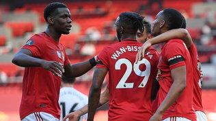 Poker Liverpool e titolo più vicino, United senza problemi
