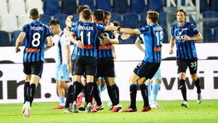 Lazio, crollo scudetto: l'Atalanta la ribalta da 0-2 a 3-2