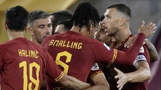 La Roma riparte nel segno di Dzeko, la Samp ora trema