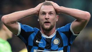 L'Inter non perdonaSkriniar: niente ricorso e 10.000 euro di multa