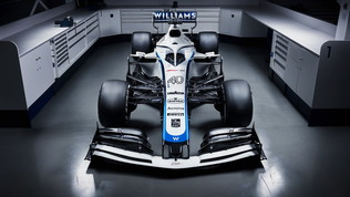 Williams, la nuova livrea dopo l'addio allo sponsor