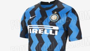 """Inter a zig-zag: le foto """"ufficiali"""" della prima maglia 2020/21"""