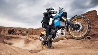 Yamaha riaccende il mito delTénéré con la Rally Edition