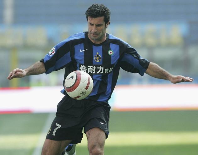 Luis Figo: arrivato nel 2005 e ritiratosi nel 2009, 140 partite e 8 trofei vinti