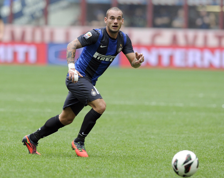 Wesley Sneijder: arrivato nel 2010 e andato via nel 2013, 116 partite e 6 trofei vinti