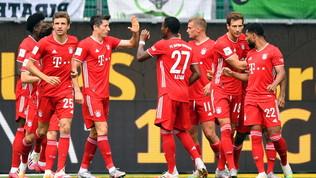 Il Bayern chiude in bellezza, crollo Dortmund.M'Gladbachin Champions