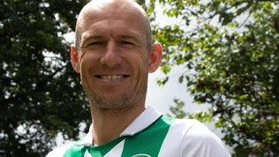 """Robben torna a giocare! Di nuovo in campo """"per amore del club"""""""