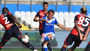 Genoa, rimonta di rigore: il Brescia resta all'ultimo posto