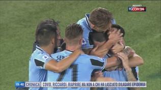 La Lazio crede nella rincorsa scudetto
