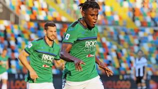 Udinese-Atalanta 2.3: la Dea è inarrestabile