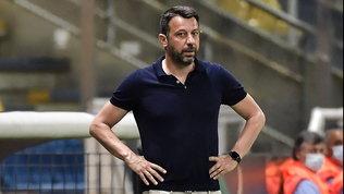 """Rabbia D'Aversa: """"Non so che gara ha visto Stellini, abbiamo dominato"""""""