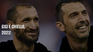 Buffon e Chiellini, Dna Juve: rinnovo ufficialefino al 2021