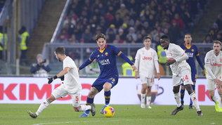 Juve, pressing su Zaniolo: la Roma resiste ma è all'angolo