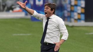 """Conte è """"assetato"""" di punti: """"C'è chi vuole creare problemi all'Inter"""""""