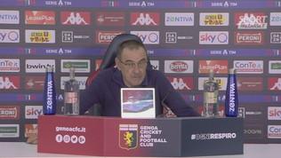 """Sarri: """"Se si pensa di vendere la A all'estero giocando alle 17 la vedo dura"""""""