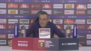 """Juve, Sarri: """"Mi prendevano per il c... assurdo giocare alle 17"""""""