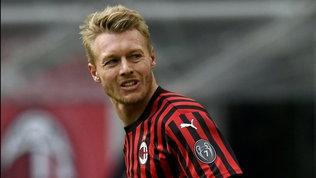 """Kjaer, prestito esteso. L'agente: """"Vede il suo futuro al Milan"""""""