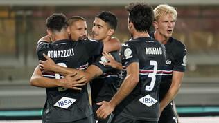 Due rigori di Ramirez regalano alla Samp la sfida salvezza col Lecce