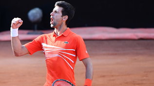 Sollievo Djokovic: lui e la moglie negativi al test sul covid-19