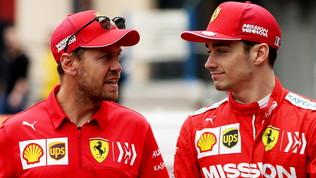 "Vettel: ""Non renderò la vita facile a Leclerc"""