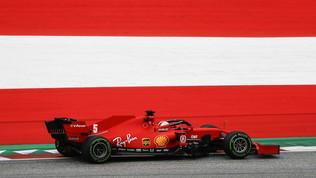 F1, tutti in pista in Austria