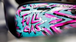 """Un casco """"a tutto Gas"""" per Gasly"""
