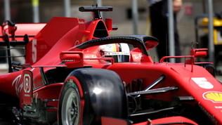 """Vettel e Leclerc in coro: """"Andrà meglio"""""""