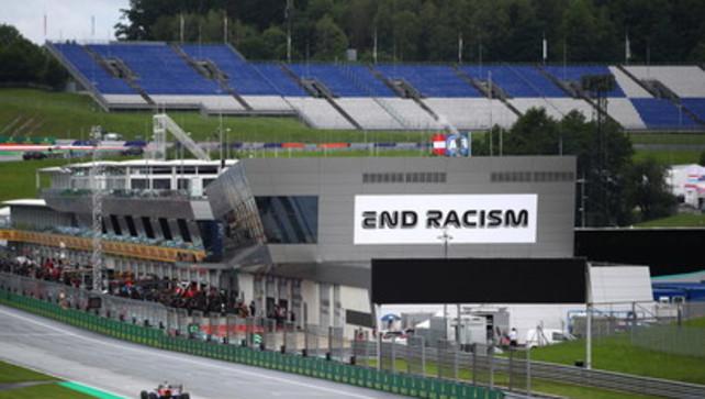 F1, in Austria tutti uniti contro il razzismo