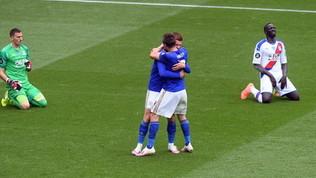 Leicester e United, passi avanti da Champions