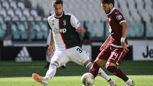 Juventus-Torino: la partita in foto