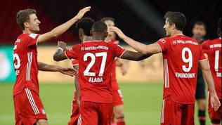 Bayern insaziabile, ecco la 20.ma coppa di Germania: anche Alaba-gol