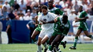 I due gol di Baggio che ribaltarono la Nigeria