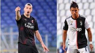 Il Milan arbitro dello scudetto: Ibracontro Ronaldoora vale la stagione