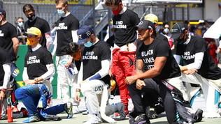 No al razzismo, ma Leclerc e Verstappen non si inginocchiano