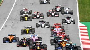 F1, il GP d'Austria live