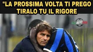 I due Musa stendono l'Inter, Conte e Lautaro bersagli dei social