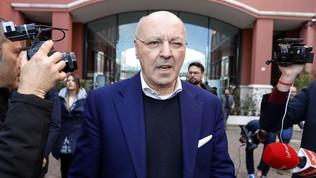 """Marotta: """"Conte è arrabbiato, Lautaroin un momento involutivo per le tante voci"""""""