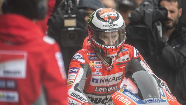 La Ducati pensa al clamoroso ritorno di Lorenzo: