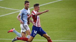 Morata-gol ma Atletico Madrid fermato a Vigo, bene il Valencia