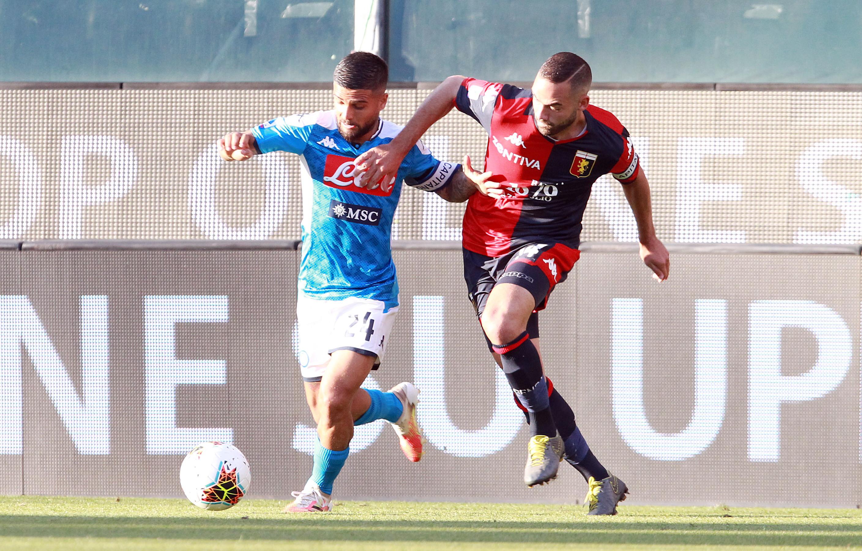 Mertens e Lozano regalano i tre punti a Gattuso, Goldaniga illude il Grifone