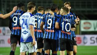Toloi e Muriel portano l'Atalanta al terzo posto: 2-0 con la Sampdoria
