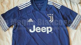 La Juventus in blu: svelata la seconda maglia 2020/21