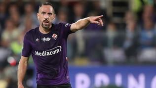 """Ribery giura amore per la Fiorentina: """"Viola per sempre"""""""