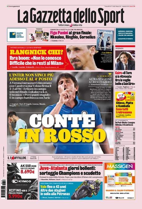 La rassegna stampa dei quotidiani italiani ed esteri.