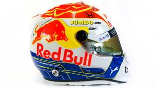 Verstappen, il casco è un omaggio ai tifosi