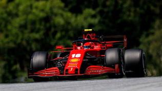 """Vettel: """"Feeling migliore"""". Leclerc fiducioso"""